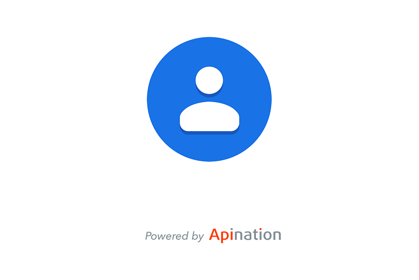 Google Contacts tile logo